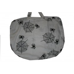Spider webs carpet bag
