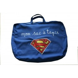 """Superman"" carpet bag"