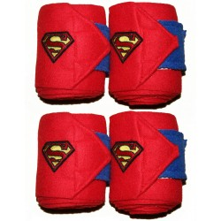 """Superman red"" polo bands"