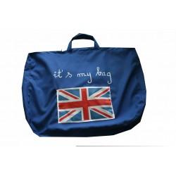 """""""É minha bolsa"""" saco de tapete"""