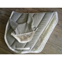 Saddle cloth cut sport silver