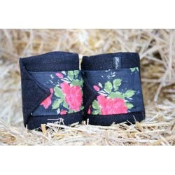 "Bandes de polo ""Roses Rouges"""